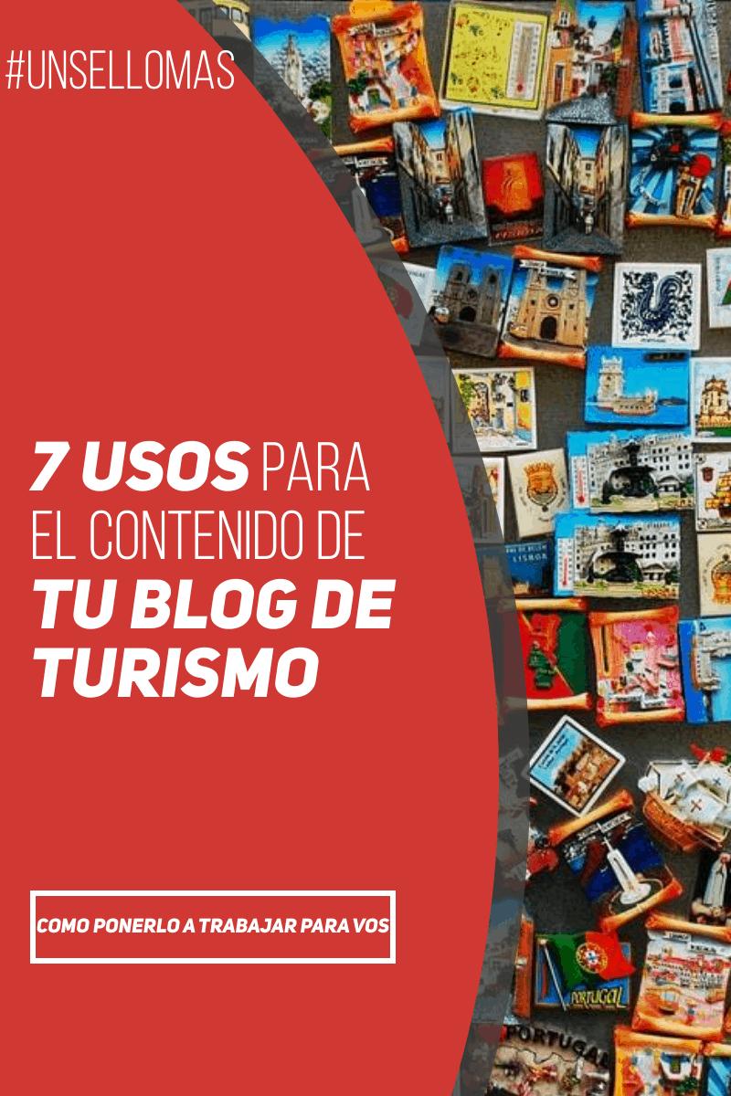7 usos para el contenido de tu blog de turismo