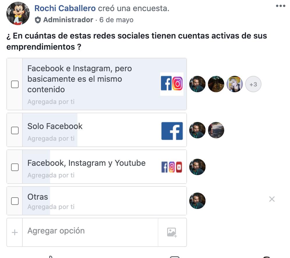Como colectar datos con encuestas de Facebook